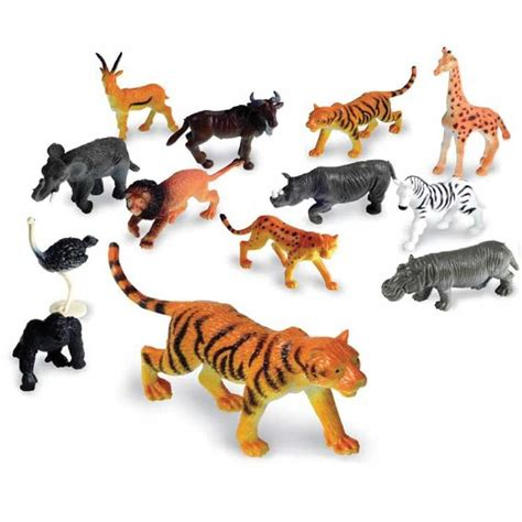 Jungle Animals Counters 60 pc Counting Set - Educational ...