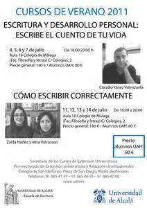 junio | 2011 | Escuela de Escritura de la Universidad de ...