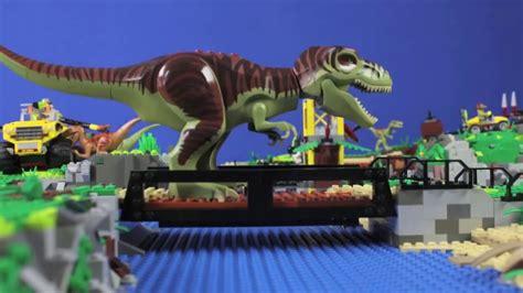 JuraBrick Park - LEGO ® DINO stopmotion - YouTube