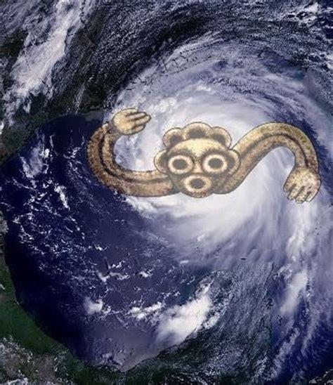 Jurakan , Mayan/Arawak deity of wind and storm.   My ...