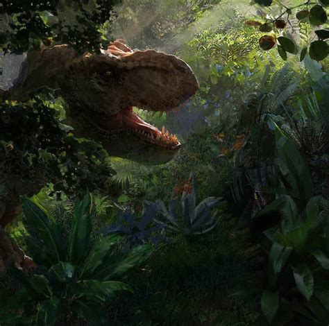 Jurassic World: Evolution Game Concept Art! - Jurassic ...