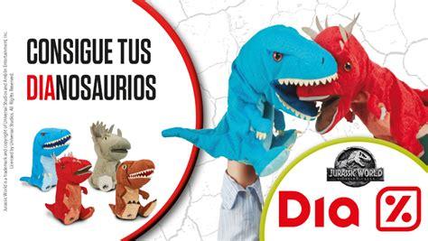 Jurassic World llega a Día: ¡consigue tus dinosaurios ...