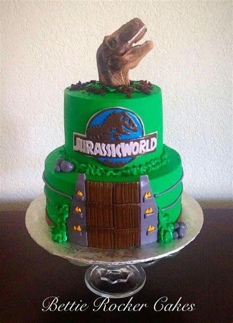 Jurassic World Park Cake Bettierockercakes.blogspot.com ...