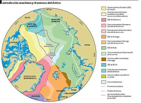 Jurisdición marítima y fronteras del Ártico   Edición ...
