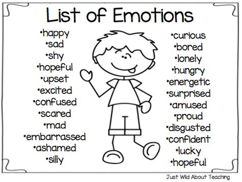 Just Wild About Teaching: All About Emotions - Health Pack