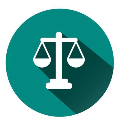 Justicia escala icono de círculo - Descargar PNG/SVG ...