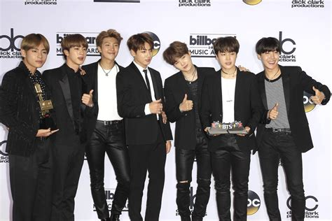 K-Pop Boy Group BTS Looks to Future After Billboard Music ...