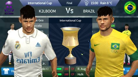 K2LBoom Vs Brazil Final in dream league soccer 2017 ...