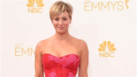 Kaley Cuoco cringes over old