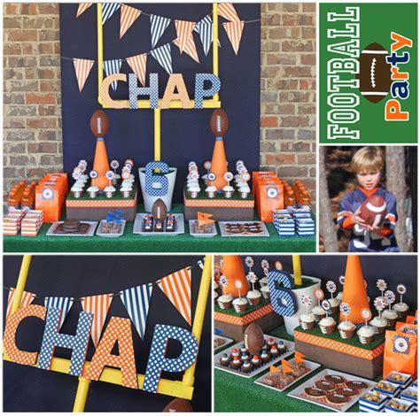 Kara s Party Ideas Football Birthday Party | Kara s Party ...