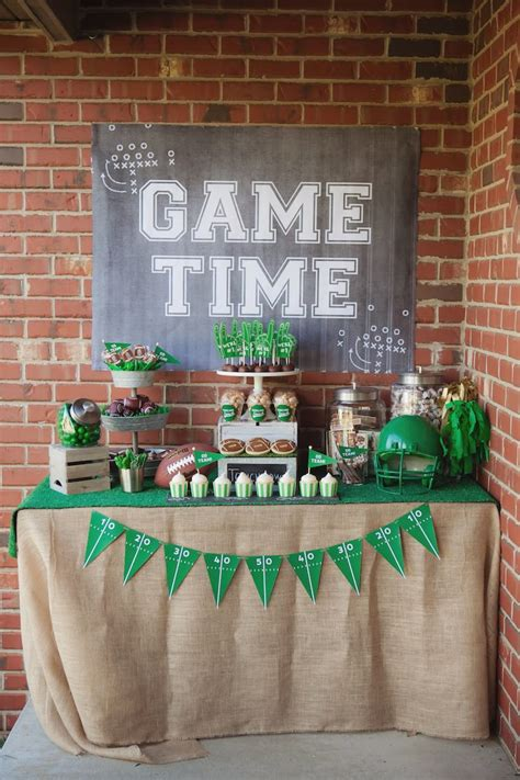 Kara's Party Ideas Tailgate Football Birthday Party | Kara ...