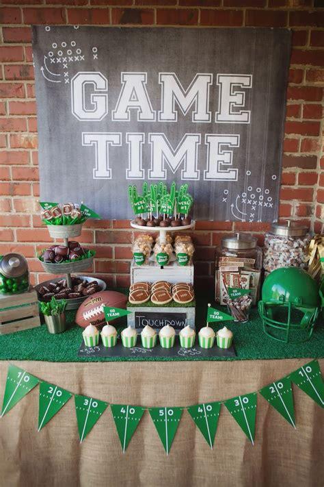 Kara s Party Ideas Tailgate Football Birthday Party | Kara ...