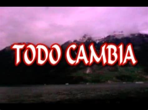 KARAOKE   TODO CAMBIA   MERCEDES SOSA   YouTube
