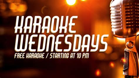 Karaoke Wednesdays – West End Lounge