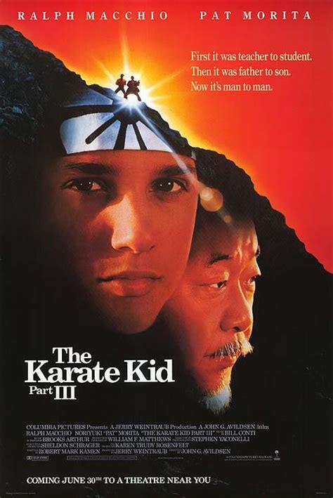 Karate Kid 3 movie posters at movie poster warehouse ...