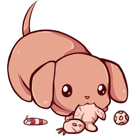 Kawaii dachshund by Dessineka on DeviantArt