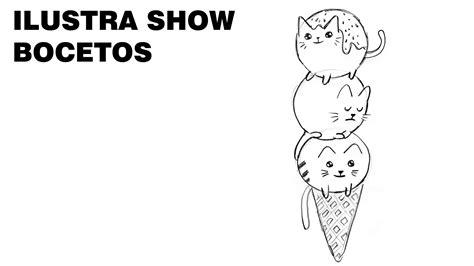 Kawaii Dibujos Gatitos