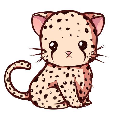 Kawaii leopard by Dessineka on DeviantArt