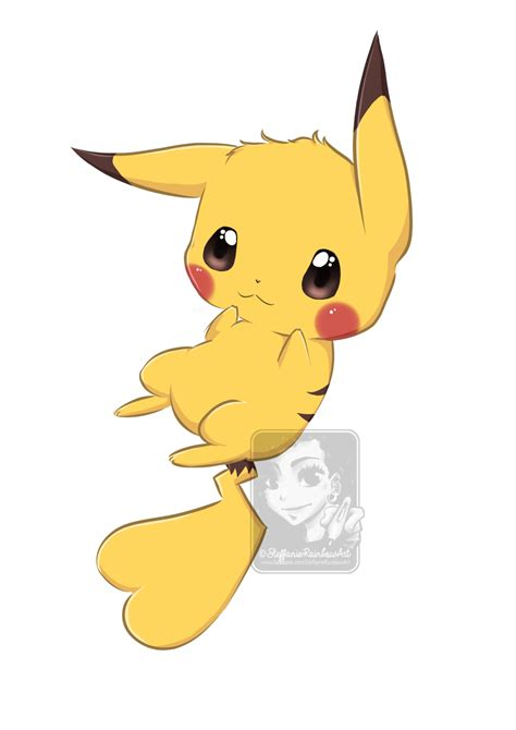 Kawaii Pikachu by ShihonRainbow on DeviantArt