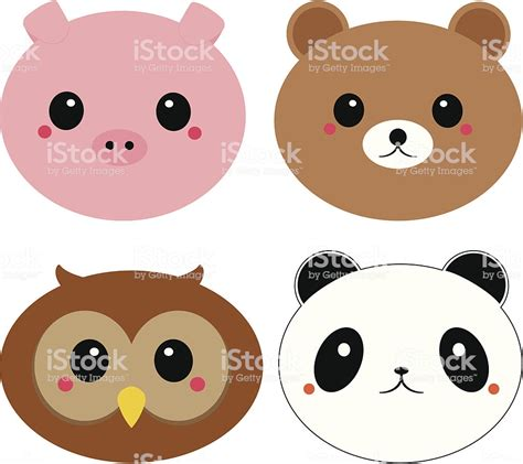 Kawaii Tiere Vektor Illustration 467026151 | iStock