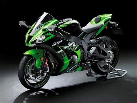 Kawasaki unveils 2016 ZX-10R with advanced electronics ...