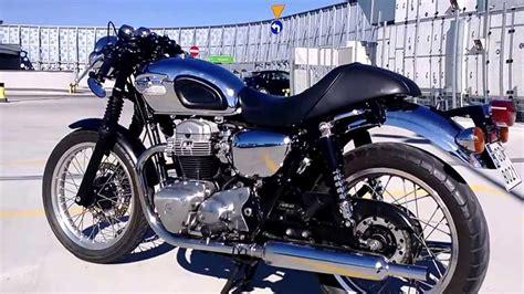 Kawasaki W650 Cafe Racer - YouTube