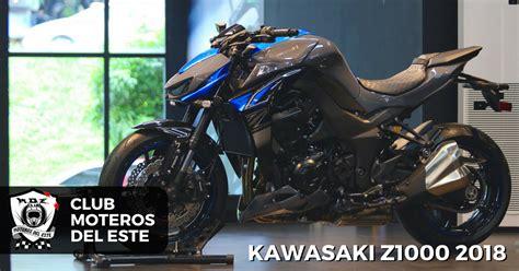 Kawasaki Z1000 2018   Moteros del Este