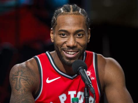 Kawhi Leonard 'excited' to be with Raptors and for what's ...