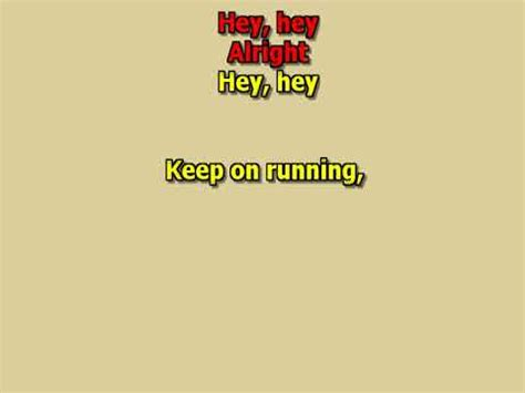 Keep On Running Karaoke Mp3 Songs download free and play ...