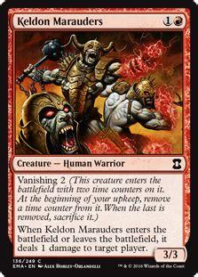 Keldon Marauders - Creature - Cards - MTG Salvation