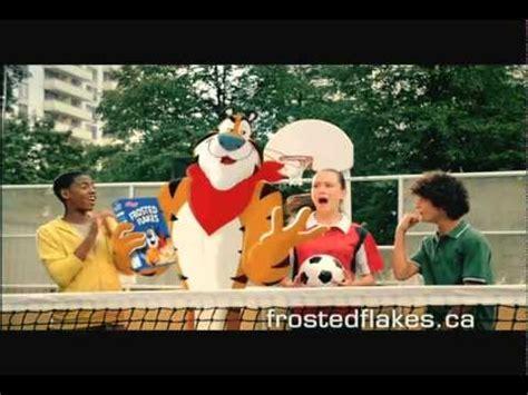 Kellogg s TV Commercial   Soccer Tennis   YouTube