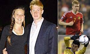 Kevin de Bruyne s ex girlfriend Caroline Lijnen cheated on ...
