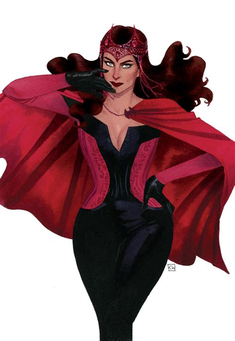 KEVIN WADA Opens Up About SCARLET WITCH Design Process ...