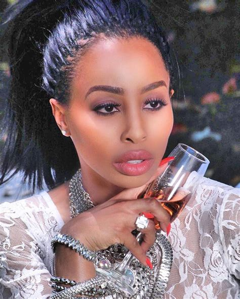 Khanyi Mbau Defends Her Plastic Surgery Procedures With ...
