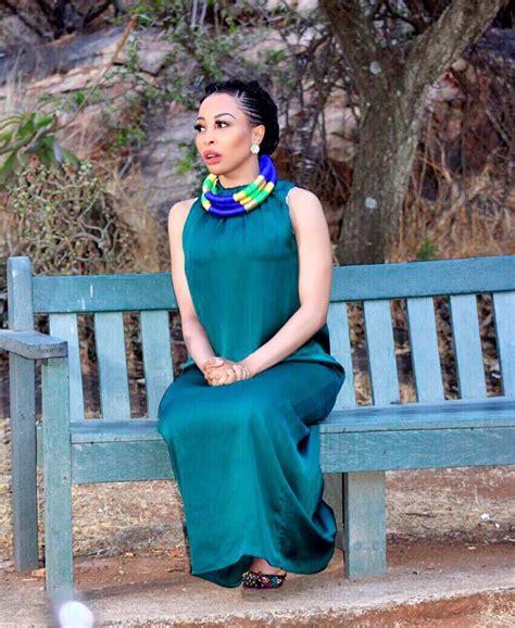 Khanyi Mbau's spicy clapback to bleaching shade – You dark ...
