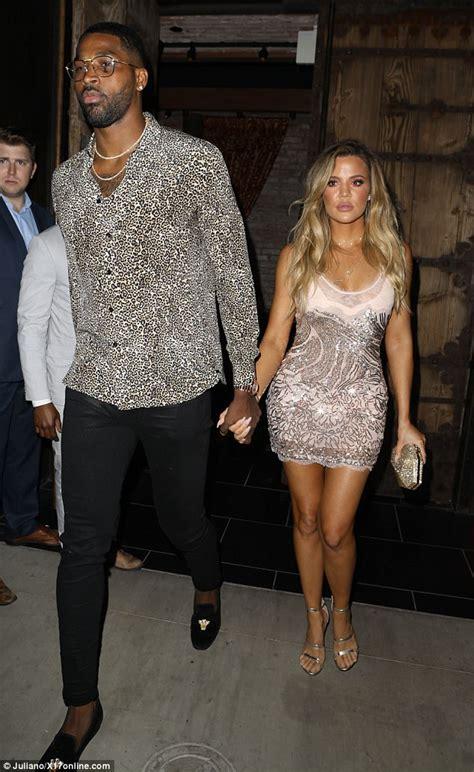 Khloe Kardashian celebrates birthday with Tristan Thompson ...