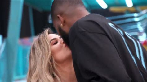 Khloe Kardashian Snuggles Up to Tristan Thompson, Is ...