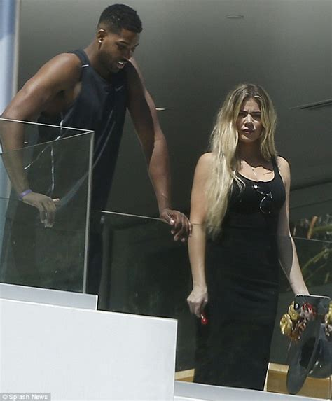 Khloe Kardashian spotted with Tristan Thompson following ...