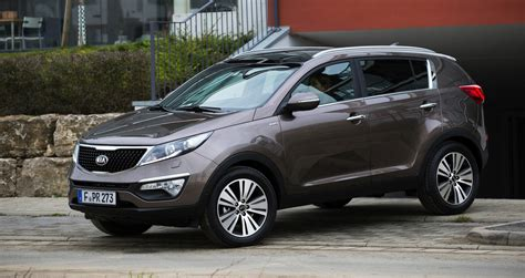 Kia Sportage : updated SUV here in May - Photos (1 of 9)