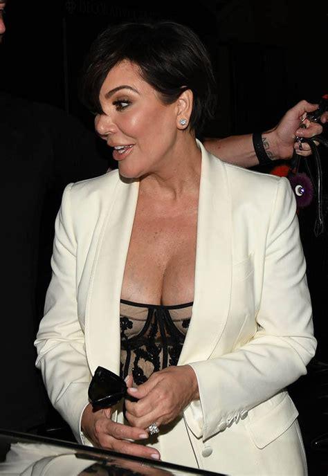 Kim Kardashian unairbrushed photos eclipsed by Kris Jenner ...