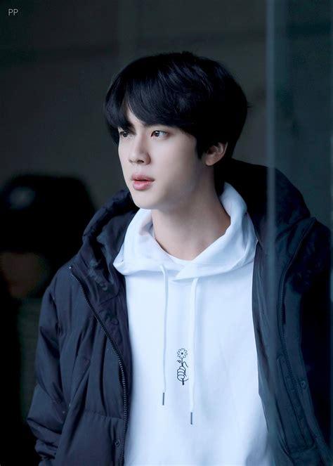 kim seokjin  jin  black hair bts puma 2018 fansign   BTS ...