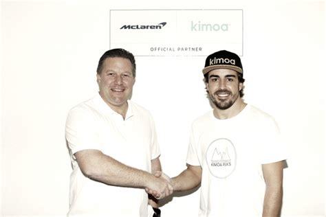 Kimoa, la marca de ropa de Fernando Alonso, nuevo ...