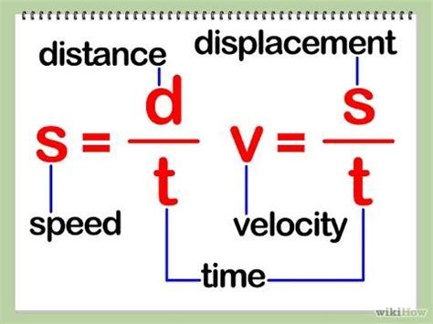 kinematics physics   speed and velocity   calculate speed ...