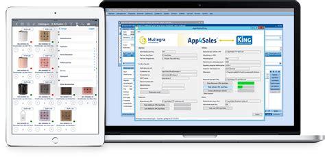 King Software koppeling met verkoop app App4Sales | App4Sales