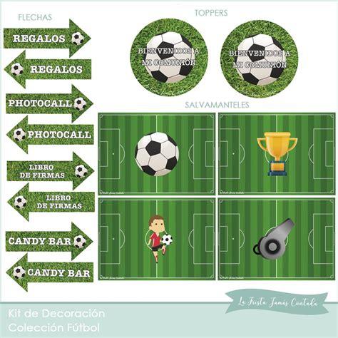 Kit de decoración para Comunión Fútbol - Tienda La Fiesta ...
