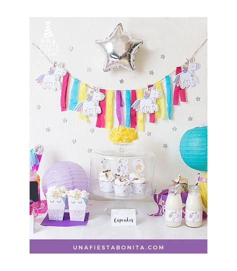 kit de fiesta unicornios