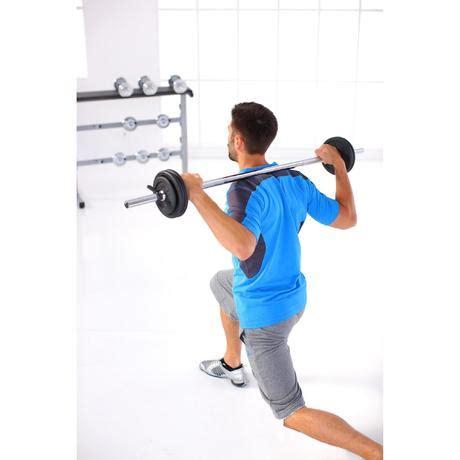 Kit de pesas y barras de musculación de 93 kg | Domyos by ...