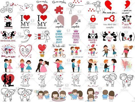 Kit Digital Dia dos Namorados-Corel Draw no Elo7 | D ...
