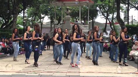 Kizomba women at an international Kizomba flashmob in a ...