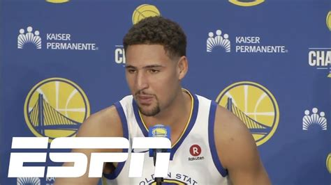 Klay Thompson embracing the hatred of the Warriors | ESPN ...